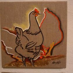 Le grain aux poules