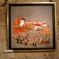 Mon beau moulin (inspiré d'une vue de Chavagnes-en-Paillers).